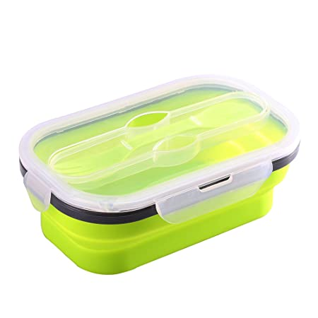 vinkoe microondas alimentos almacenamiento contenedor de silicona ...