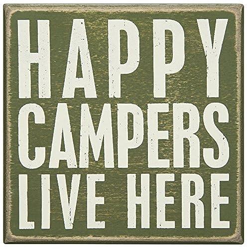 Happy Camper Sign Amazon