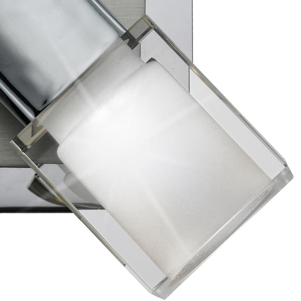 COB LED 5 Watt Wand Spot Strahler beweglich Wohn Ess Zimmer Beleuchtung Schalter