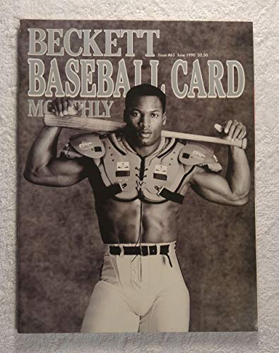 (Bo Jackson - Baseball & Football - Beckett Baseball Card Monthly Magazine - #63 - June 1990 - Back Cover: Tim Raines (Montreal Expos) )
