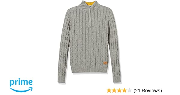 859877465 Amazon.com  Kid Nation Boys  Sweater Long Sleeve Pullover Casual Zip ...
