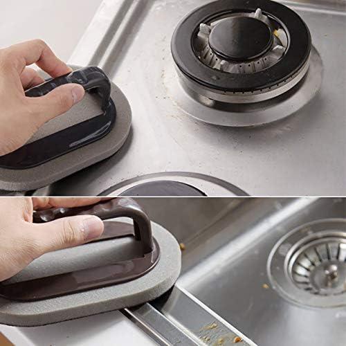 実用的な強力除染浴室ブラシ強力除染浴室ブラシキッチンクリーンツール-ブラウン