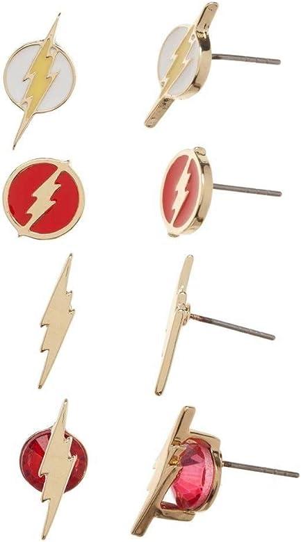 Bio Flash Icon Pendientes Pack: Amazon.es: Joyería