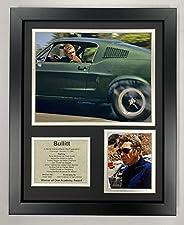 Legends Never Die Bullitt Framed Photo Collage, 11 x 14-Inch