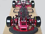 powerday®  D3 CS 1/10 4WD Drift Racing Car Frame Kit w/Front one Way Carbon Fiber + CNC Metal