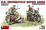 """MINIART Echelle 1: 35""""US de réparation Moto Crew Kit de modèle en plastique"""
