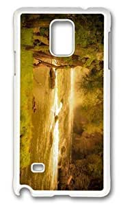 Adorable forest river hd Hard Case Protective Shell Cell Phone Samsung Galaxy S6 - PC White