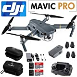 DJI Mavic PRO Drone with Remote, Include SanDisk 32GB MicroSD Card, Housing Case and Cleaning Cloth