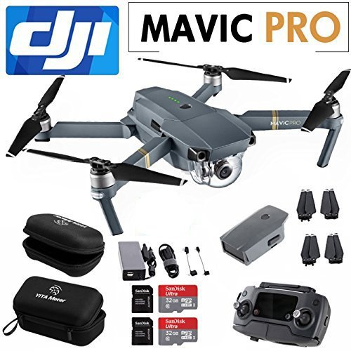 DJI-Mavic-PRO-Drone-with-Remote-Include-SanDisk-32GB-MicroSD-Card-Housing-Case-and-Cleaning-Cloth