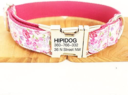 Fashion Woven Checkers Pattern Available in Size Small//Medium//Large Friends Forever Plaid Dog Collar for Dogs Cute Puppy Collar