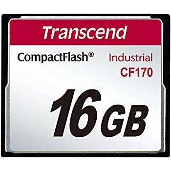 CF170 16 GB CompactFlash (CF) Card