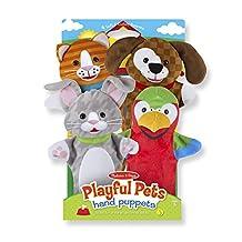 Playful Pets Hand Puppets - Puppet by Melissa & Doug (9084)