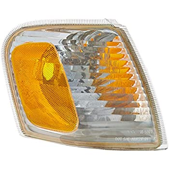 Partslink Number FO2521164 OE Replacement Ford Explorer Passenger Side Parklight Assembly