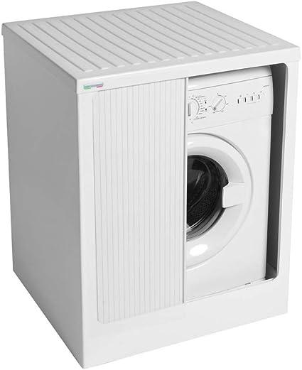 Lavacril Outdoor Storage Box For Washing Machine White 72x68 White Colavene Amazon Co Uk Kitchen Home
