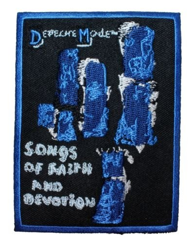 Mode Motorcycle Pants (Depeche Mode '',Songs of Faith &, Devotion'', Rock Band Music Iron On Applique Patch for Accessories - Bags/Purses, Apparel - Coat/Jacket, Apparel - Jeans/Pants, Children, Crafts by SayrusPlay)