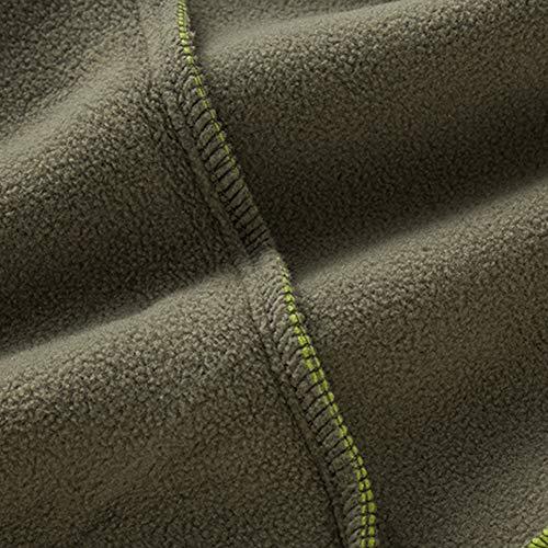 51cf50a%2BBUL. SS500  - Leoie Men Warm Full Zip Casual Fleece Vest Outdoor Climbing Hiking Gilets Waist Coat Cotton Zipper Casual Fleece Vest Fall Winter Sleeveless Men Jackets Cotton Zipper Casual Fleece Vest Fall