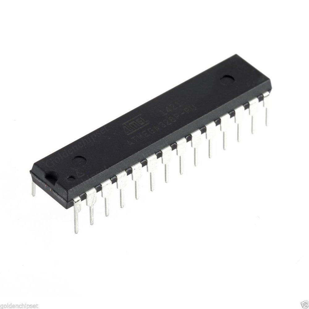5PCS ATMEGA328P-PU Microcontroller ATMEGA328P Atmel IC MCU Chip DIP28 32KB FLASH