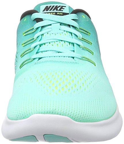 Nike Free RN, Zapatillas de Running para Hombre Turquesa (Hyper Turq / Black-Rio Teal-Volt)