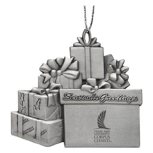 Corpus Christi LXG Texas A/&M University Pewter Gift Package Ornament