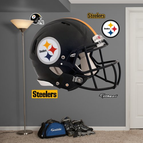FATHEAD NFL Pittsburgh Steelers Helmet Wall Graphics
