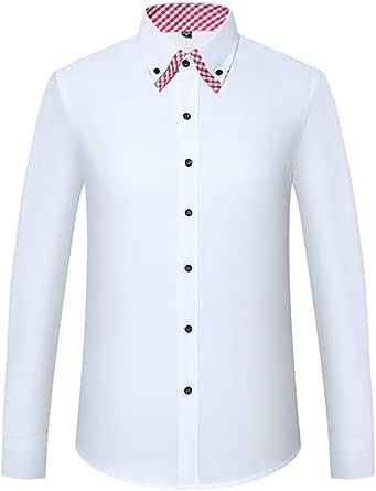 Camisas de Vestir para Hombres Camisa Informal Suelta de ...