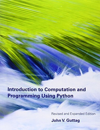 Buy guttag john. introduction to computation and programming using python