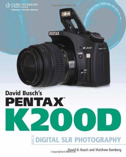 User Guide Pentax Genuine K200D Instruction Book Manual