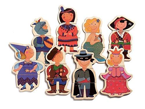Djeco Fancy Children Magnets - 24 Pieces