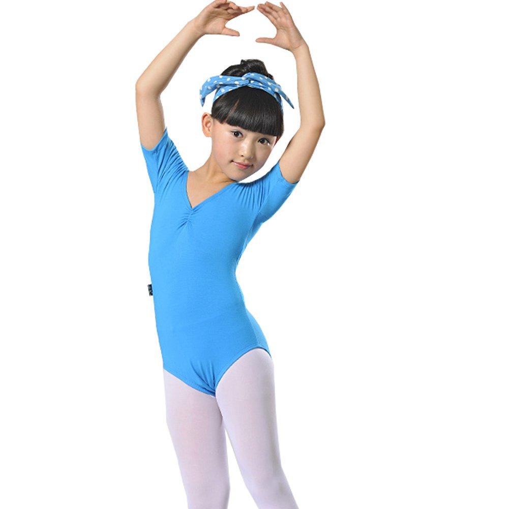 4fc04a57b Amazon.com   Little Girls  Ballet Dresses Gymnastics Dress Short ...