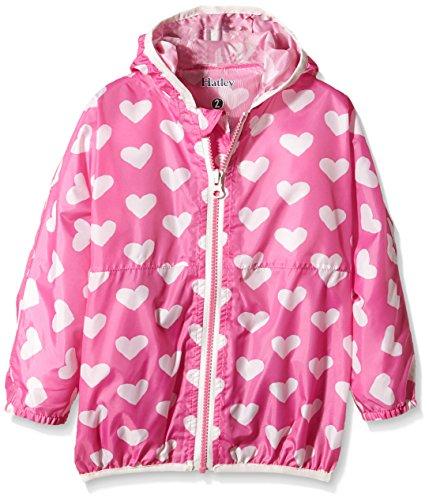 Hatley Girls Pink Hearts Breaker