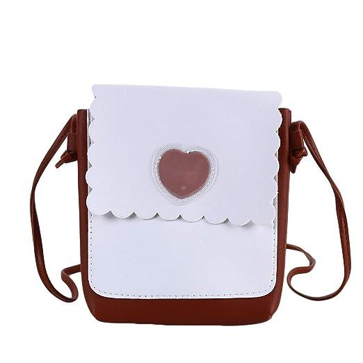 Ogquaton Love Heart Corssbody Bag Button Bolsos Bolsas ...