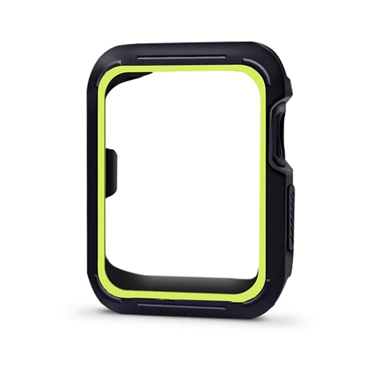 Qissy Compatible with iWatch Series 5 Case TPU 40mm Matte Style Ultra-Thin Cover