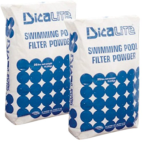 Earth Diatomaceous De Filters - Dicalite Minerals DicaLite-50B Diatomaceous Earth Pool Filter 50 lbs, 20452