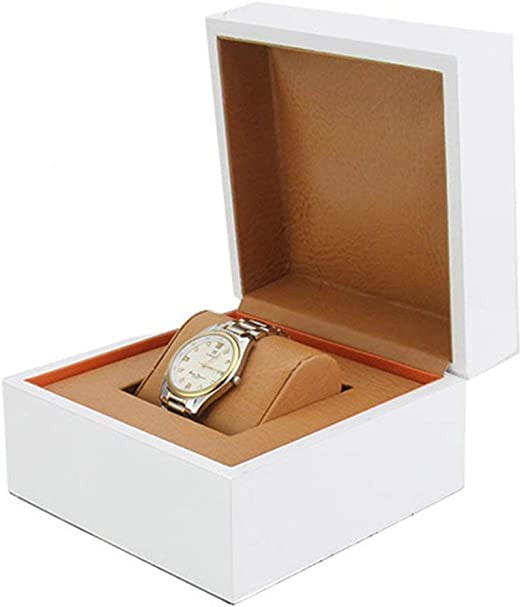 Tellgoy-Box Caja de Reloj para Hombres, Vitrina de Reloj, Interior ...