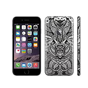 Vinyl Skins for iPhone 6 Plus Decoration with Logo hollow-carved
