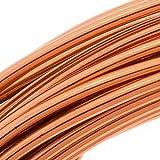 Aluminum Craft Wire Copper Color 12 Gauge 39 Feet (11.8 Meters)