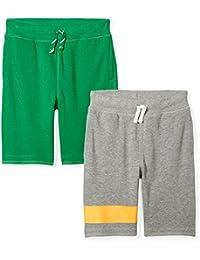Amazon Brand - Spotted Zebra Boys French Terry Knit Shorts