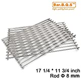 Bar.b.q.s 8MM Rod Replacement Stainless Steel Cooking Grid for Weber Genesis Silver B & C, Genesis Gold B & C, (2002 & Newer Models); Spirit 700 Gas Grill (Grid)