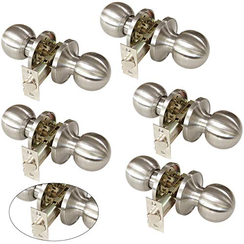 door knobs interior nickel - 9