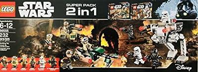 LEGO 2 in 1 Star Wars #66555