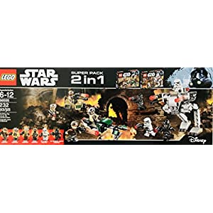 lego 2 in 1 star wars #66555 - 51cfB9UlUJL - LEGO 2 in 1 Star Wars #66555
