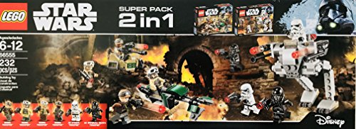 LEGO 2 in 1 Star Wars #66555 (Lego Star Wars Iv The Clone Wars Ii)