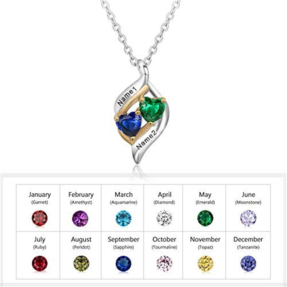 DJUNJUN Necklace Mothers Day Temperament Fashion to Send mom can be Customized