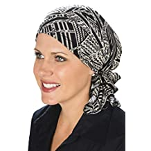 Slip-On Slinky Pre-Tied Head Scarf: Scarves for Cancer Patients, Chemo Neutral Tribal