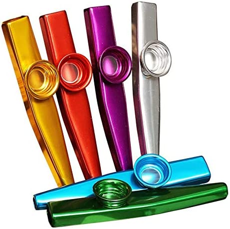 Metal Material Kazoo from The Britan Instrument Durable Use Red