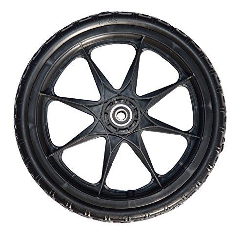 Wheel Mower Plastic Lawn (16 X 2.125-inch Flat Free Cart Tire on Plastic Rim)