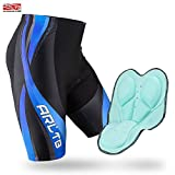 Arltb Bike Shorts Men's Gel Padded Cycling Shorts Biking...