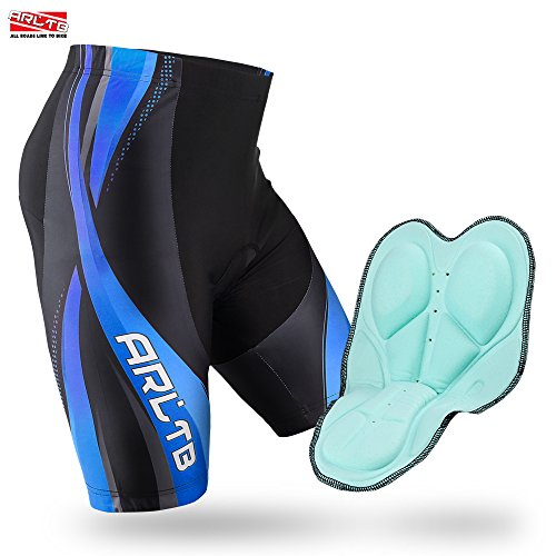 Arltb Bike Shorts Gel Padded Cycling Shorts Biking Bicycle Bike Pants Half Pants 3d Padding Breathable Bike Shorts For Cycling Breathable And Quick Dry (4 Colors And 5 Sizes)