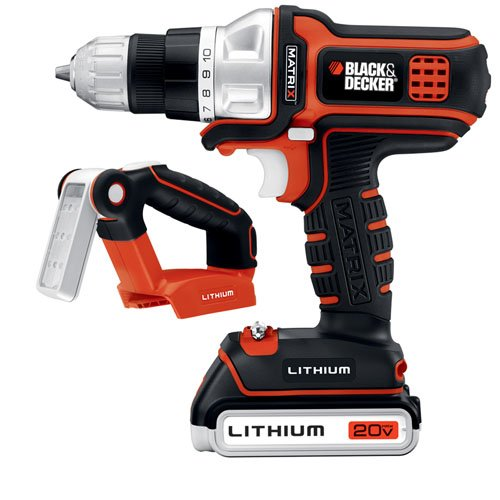 Black & Decker BDCDMT120FL 20-Volt MAX Lithium-Ion Matrix...
