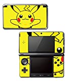 Pikachu Special Edition X Y Omega Ruby Alpha Sapphire Black and White Video Game Vinyl Decal Skin Sticker Cover for Original Nintendo 3DS System